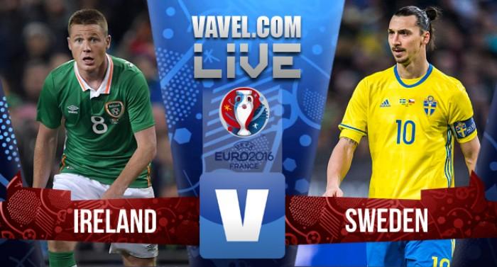 Irlanda y Suecia firman la paz (1-1)