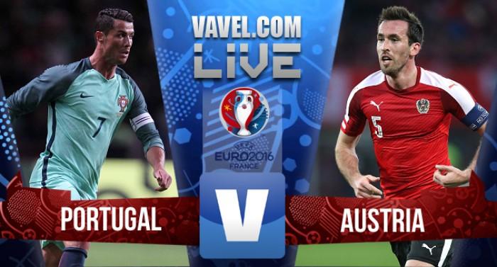 Live Portogallo - Austria, Euro 2016  (0-0): Ronaldo sbaglia, il Portogallo resta al palo!
