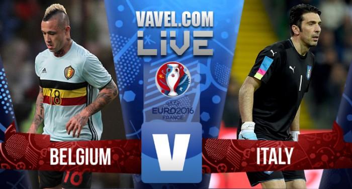 Resultado Bélgica x Itália pelo grupo E da Eurocopa 2016 (0-2)