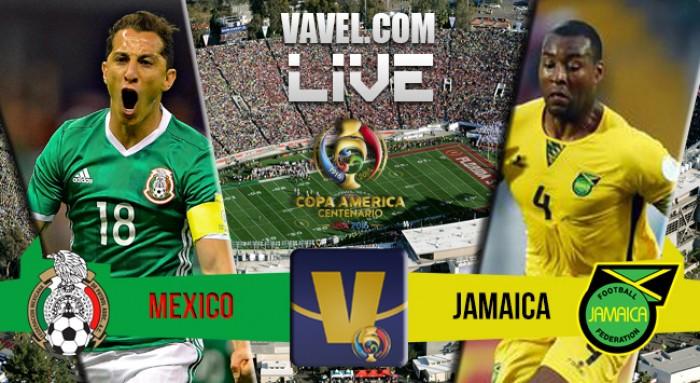 Jogo México x Jamaica na Copa América Centenário