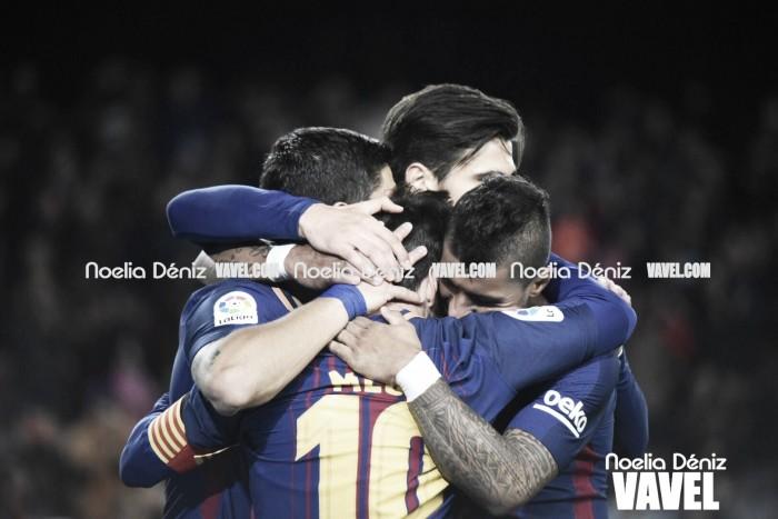 El Barça sigue intratable en liga