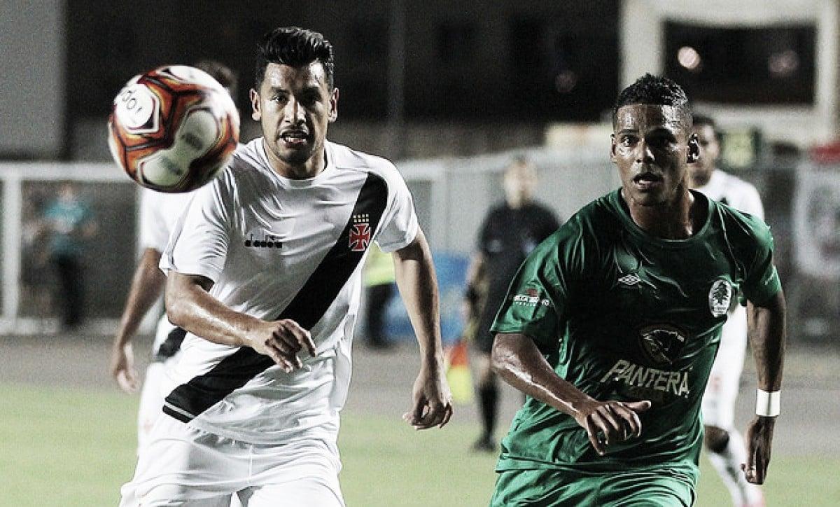 Em jogo recheado de gols, Vasco vira nos acréscimos e vence Boavista em Cariacica