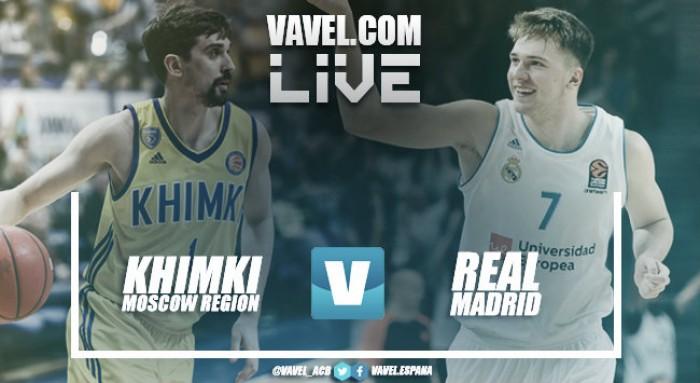Resumen Khimki Moscú 78 - 95 Real Madrid Baloncesto en Euroliga 2017