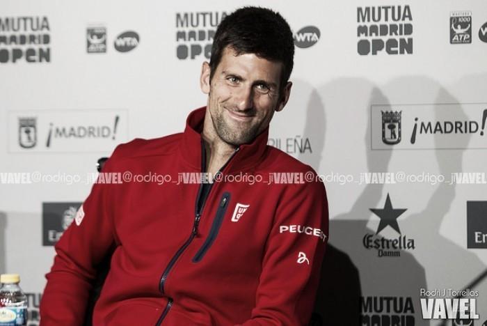 """Novak Djokovic: """"Tardé en habituarme al partido, pero ha sido positivo"""""""