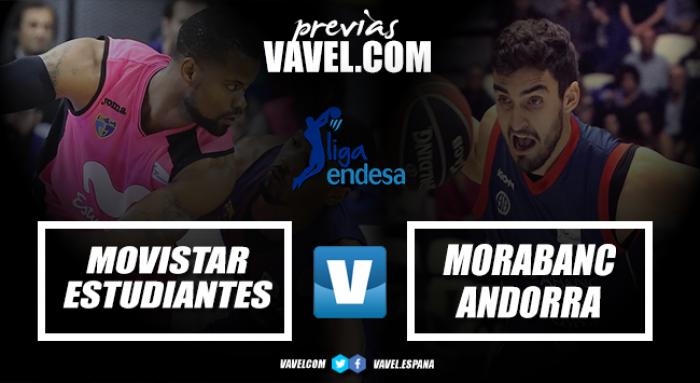 Previa Movistar Estudiantes - MoraBanc Andorra: la mirada en la Copa