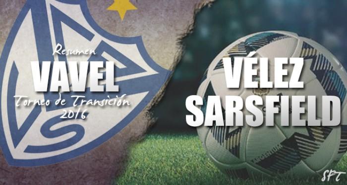 Resumen VAVEL Torneo de Transición 2016: Vélez Sarsfield