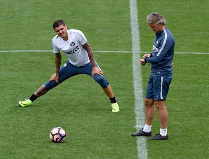Inter, ieri doppio allenamento. Nella notte prima amichevole negli USA