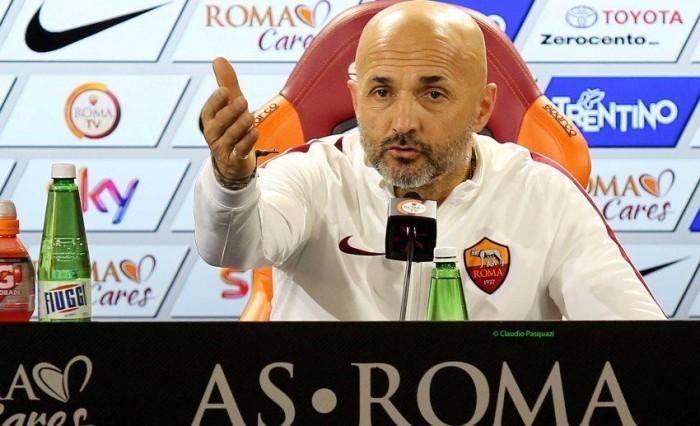 """Roma, le parole di Spalletti: """"Domani torna Strootman, e occhio a Totti-Dzeko"""""""