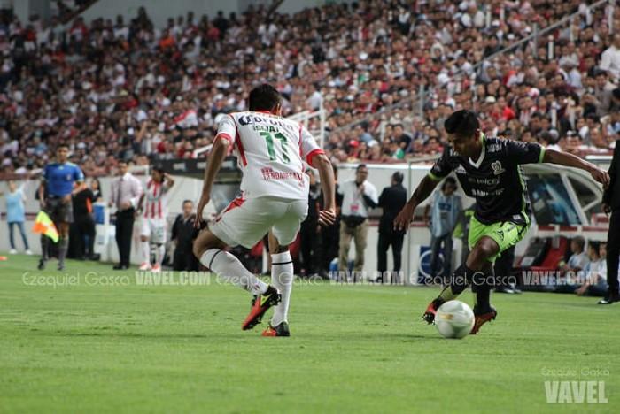 Resultado Mineros 1-2 Necaxa en Copa MX 2017