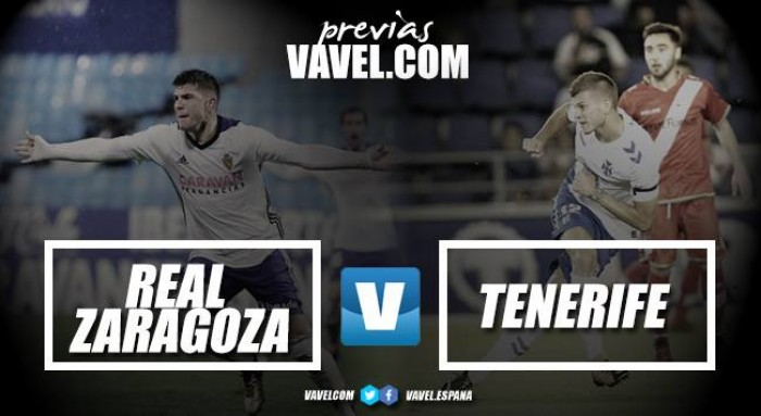 Previa Real Zaragoza - CD Tenerife: pilas cargadas para la segunda vuelta