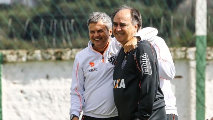 Marcelo Oliveira comanda primeiro treino a frente do Atlético-MG