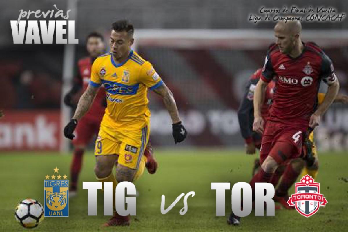 Previa Tigres - Toronto FC: Por la remontada en el 'Volcán'