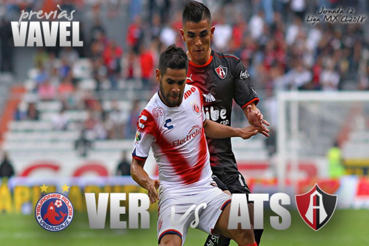 Veracruz vs Atlas, Liga MX Clausura 2018 — Transmisión en vivo