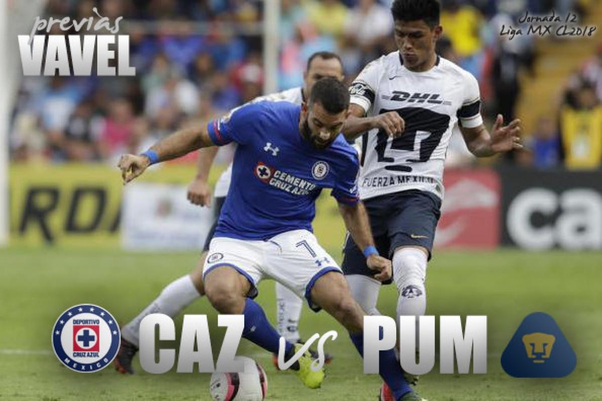 Fernando Guerrero, el designado para el Cruz Azul contra Pumas