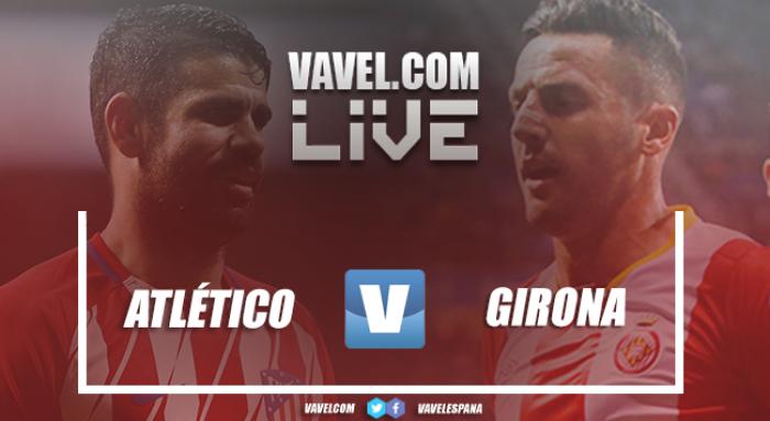 Resumen del Atlético vs Girona en La Liga 2018 (1-1)