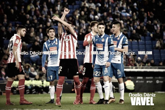 Puntuaciones del RCD Espanyol 1-1 Athletic Club de la jornada 19