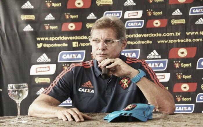 """Oswaldo de Oliveira elogia vitória do Sport: """"Esse é o caminho"""""""