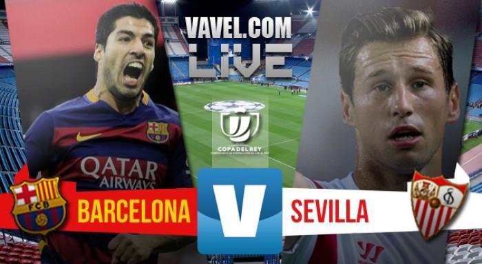 Resultado Barcelona x Sevilla na Copa do Rei (2-0)