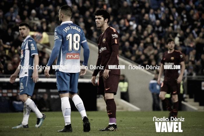 """Carles Aleñá: """"Estoy muy agradecido a Valverde por darme esta oportunidad en un partido tan importante"""""""
