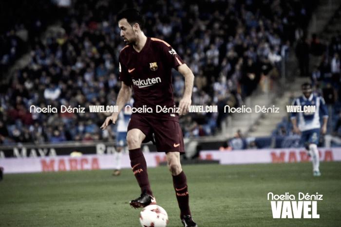 """Sergio Busquets: """"Tenemos la vuelta de aquí a una semana y la oportunidad de remontar en casa"""""""