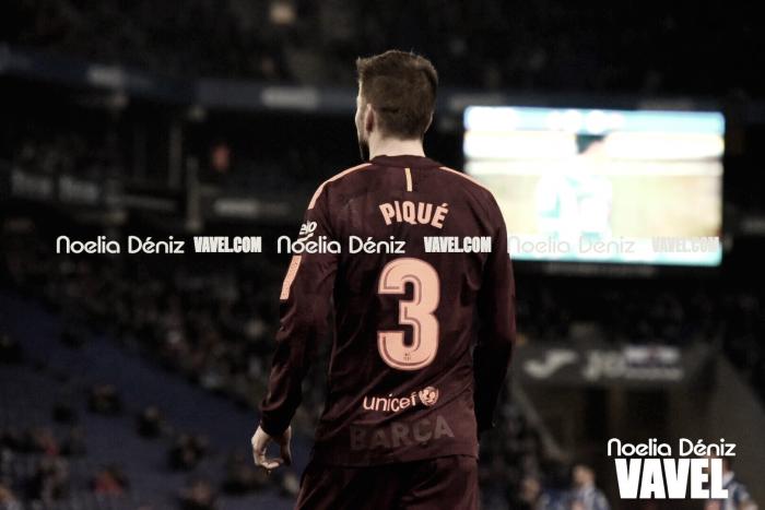 """Gerard Piqué: """"Tenemos el partido en el Camp Nou para poder ganar y clasificarnos"""""""