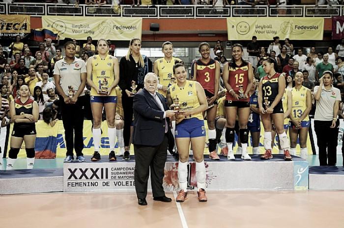 """MVP do Sul-Americano, Tandara exalta título e vaga no Mundial: """"Conquistamos nosso objetivo"""""""
