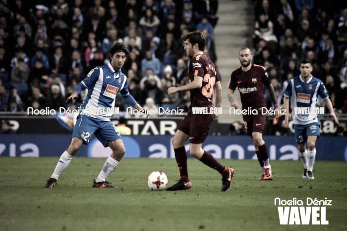 """Sergi Roberto: """"Esta derrota supone que tenemos que ganar en la vuelta"""""""