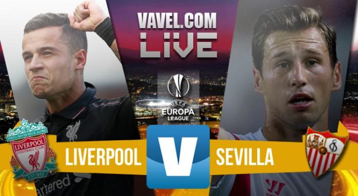 Resultado Liverpool x Sevilla pela final da Europa League (1-3)