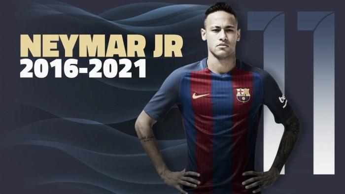 Barcelona oficializa renovação contratual de Neymar e estipula incomum multa rescisória