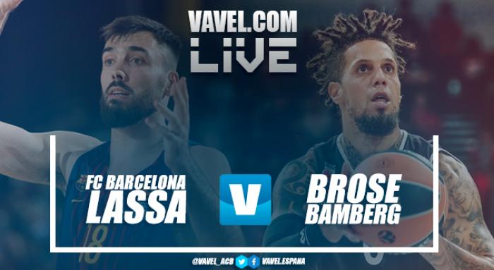ResumenBarcelona Lassa 81-66 Brose Bamberg en Euroliga 2017/18