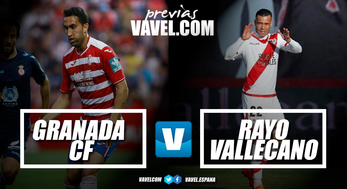 Previa Granada-Rayo Vallecano: con la mirada puesta en Primera
