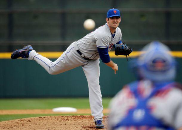 Matt Harvey Arrives Early To Mets' Workouts