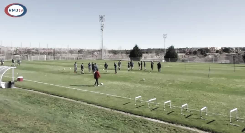 Segunda sesión de cara al partido ante el Granada