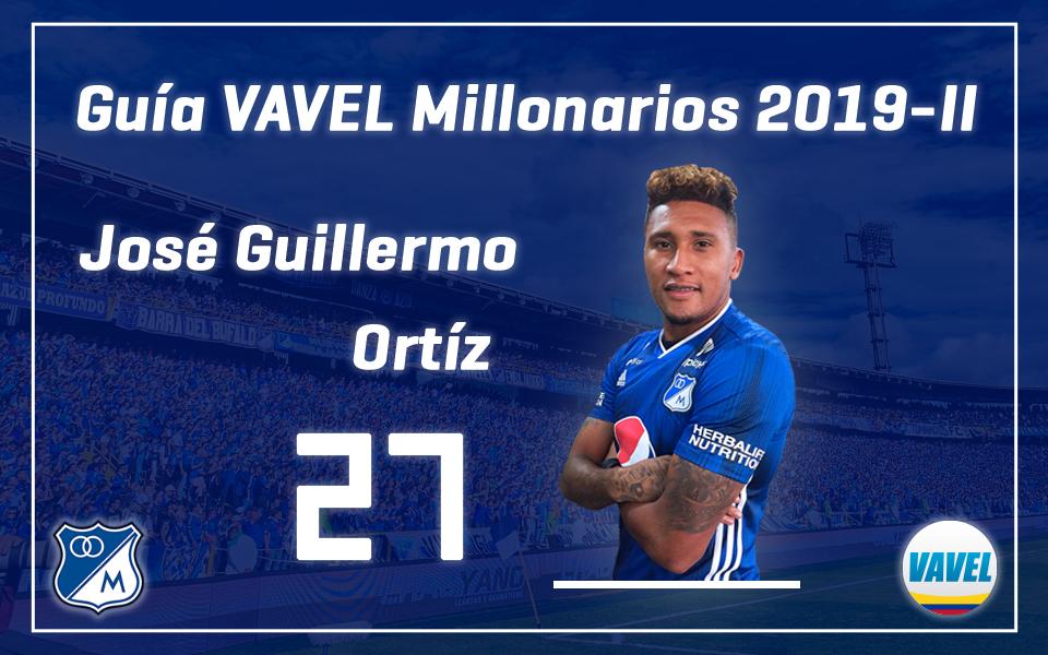 Análisis VAVEL, Millonarios 2019-II: José Guillermo Ortiz