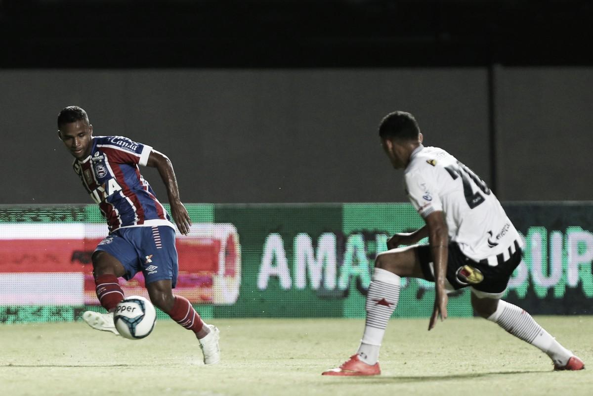 Bahia empata sem gols diante do Botafogo-PB e avança às semifinais do Nordestão