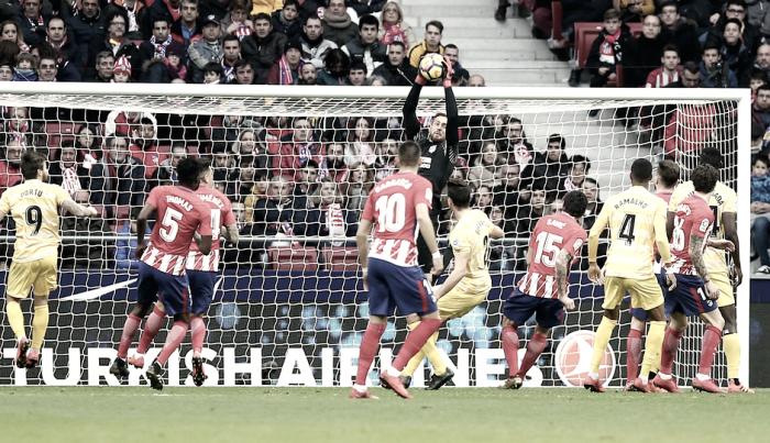 Atlético de Madrid - Girona: puntuaciones del Atleti, jornada 20 de la Liga