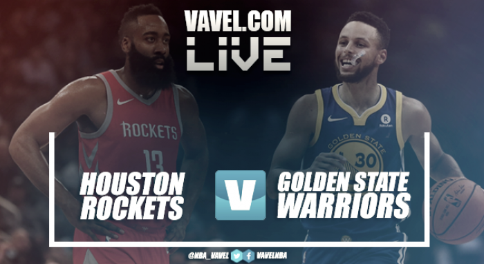 Resumen Houston Rockets 116-108 Golden State Warriors en NBA 2018