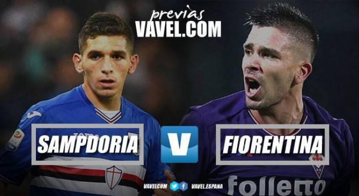 Previa Sampdoria vs Fiorentina: en busca de un viaje por Europa