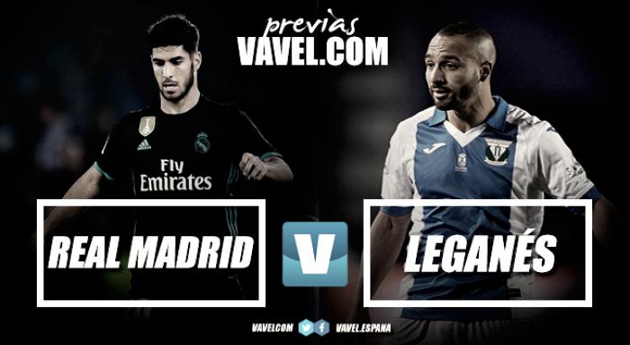 Previa Real Madrid - CD Leganés: solos ante el peligro
