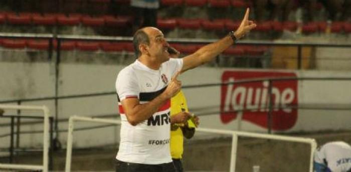 Vinícius Eutrópio destaca superioridade do Santa Cruz mesmo com revés para Londrina