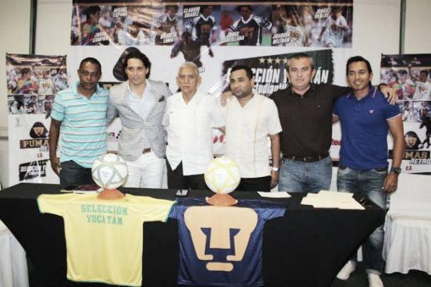 Ex Pumas jugarán en el Carlos Iturralde Rivero