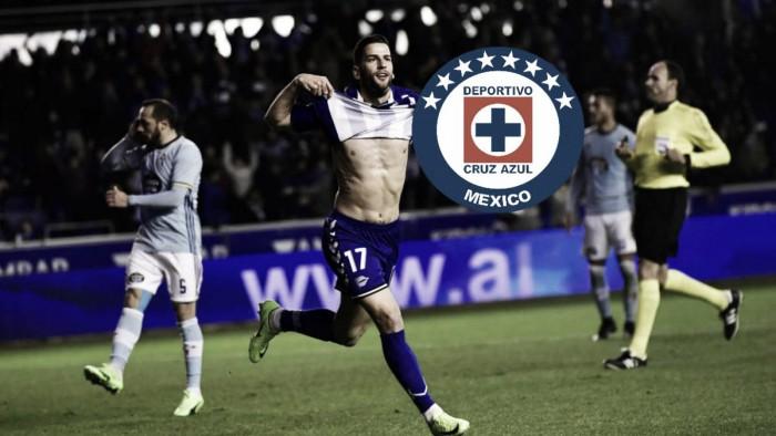 Refuerzo del Cruz Azul llega a México