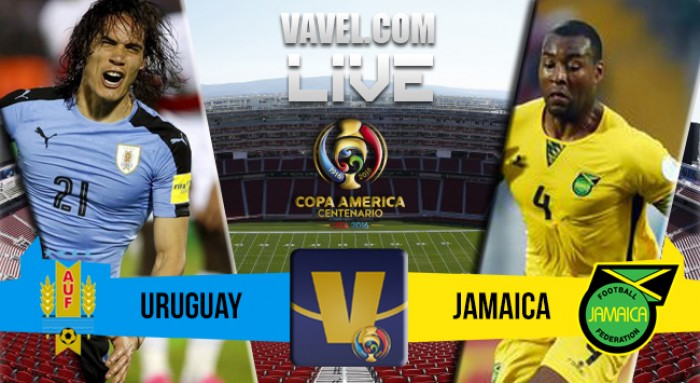 Jogo Uruguai x Jamaica na Copa América Centenário