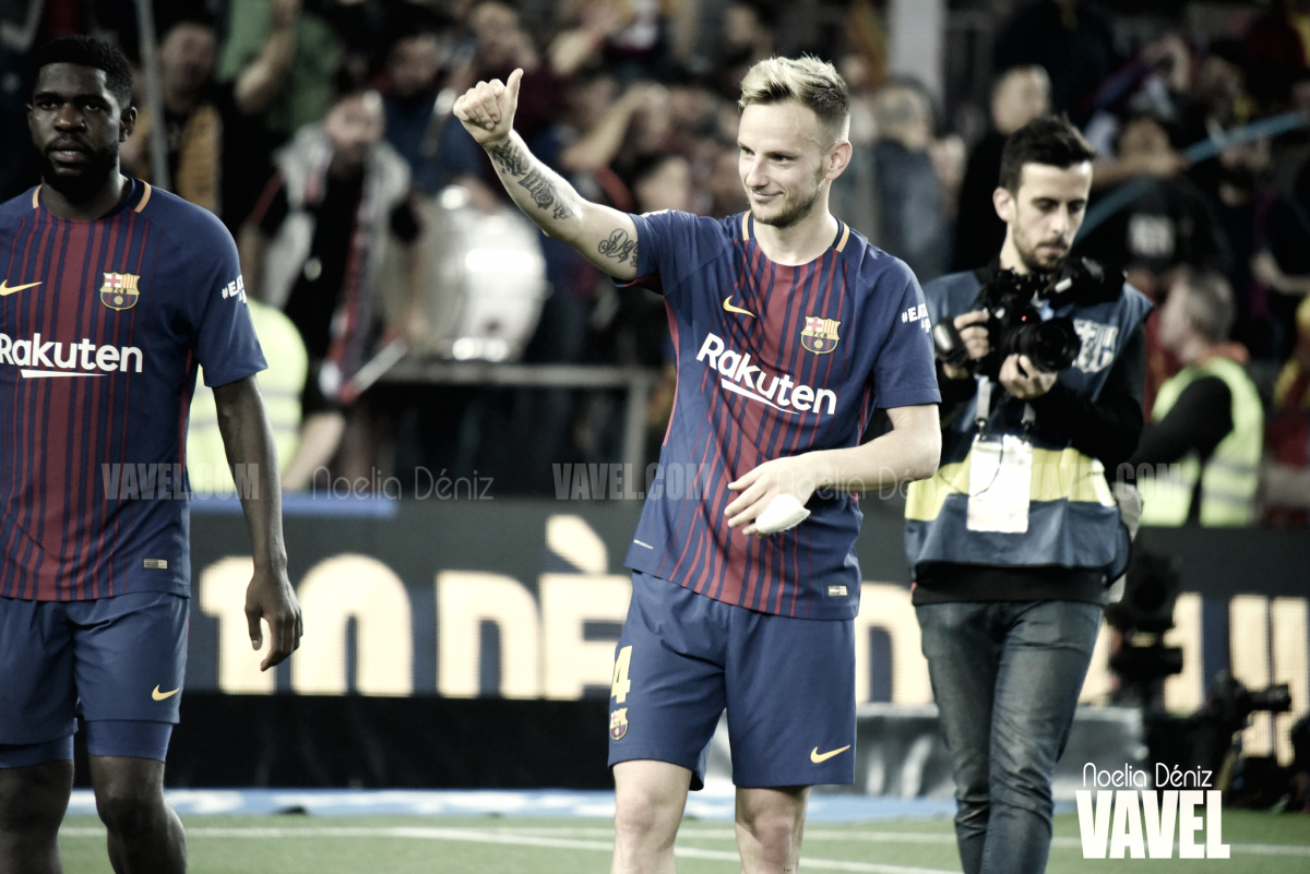 "Ivan Rakitić: ""Ver a Iniesta en el banquillo me dolió mucho"""