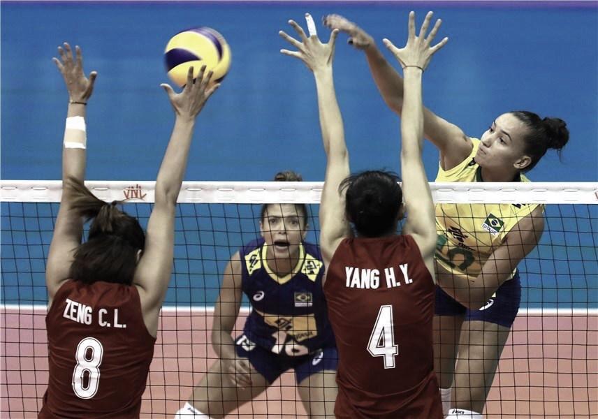 Brasil domina China e estreia com vitória na Liga das Nações