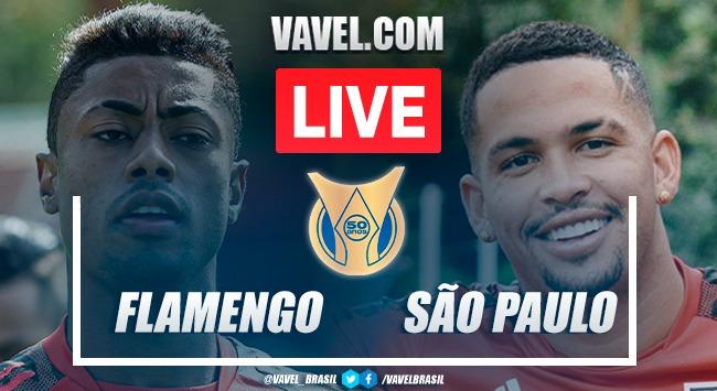 Gols e melhores momentos Flamengo x São Paulo pelo Brasileirão 2021 (5-1)