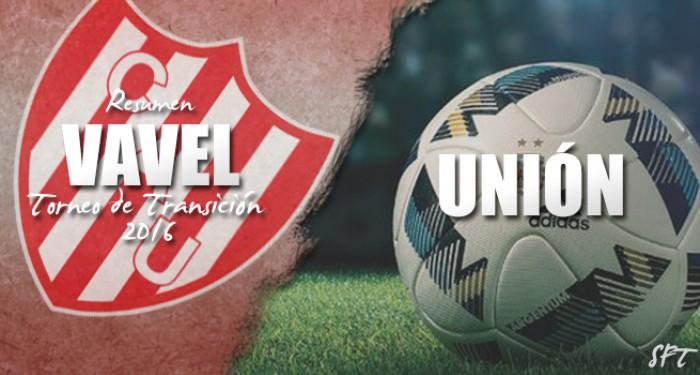 Resumen VAVEL Torneo de Transición 2016: Unión de Santa Fe