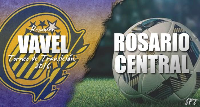 Resumen VAVEL Torneo de Transición 2016: Rosario Central