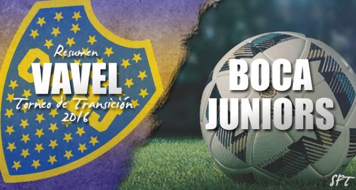 Resumen VAVEL Torneo de Transición 2016: Boca Juniors