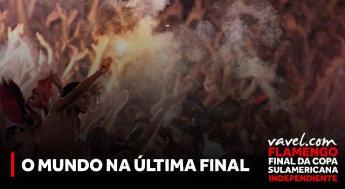 Vinicius Jr. bebê, 11 de setembro e FHC: o mundo na última final internacional do Flamengo